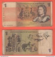 Australia One Dollar 1966 - 1972 - Emissioni Governative Decimali 1966-...