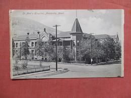 St Ann's Hospital     Montana > Anaconda      Ref 3781 - Anaconda
