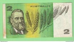 Australia 2 Dollars - 1974-94 Australia Reserve Bank