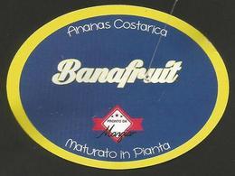 # PINEAPPLE BANAFRUIT Fruit Tag Balise Etiqueta Anhanger Ananas Pina Costa Rica - Fruits & Vegetables