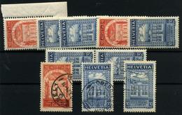 Suiza Nº 212/13. Año 1924 - Ungebraucht