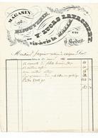 Magasin De Bijouterie Veuve Lucas-Lavachery, Vis-vis La Halle N°29 à SEDAN  RARE - 1800 – 1899