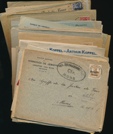 BELGIUM WWI GERMAN OCCUPATION NICE SELECTION OF COVERS ( X 90) - [OC1/25] General Gov.