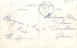 N°627 T -cachet Pointillé Challegue -Orne- - Bolli Manuali