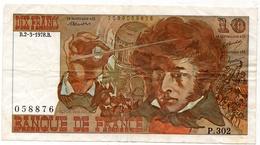 10 Francs 1978 Type 'Berlioz' - 1962-1997 ''Francs''