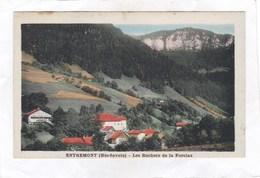 CPA :  14 X 9  -  ENTREMONT -  Les Rochers De La Forclaz - France