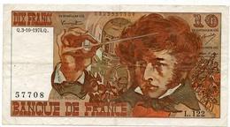10 Francs 1974 Type 'Berlioz' - 1962-1997 ''Francs''