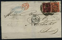 Gran Bretaña Nº 26 Y 32. Año 1858/65 - 1840-1901 (Victoria)