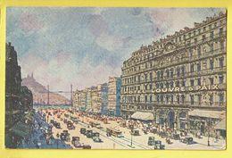 * Marseille (Dép 13 - Bouches Du Rhone - France) * (Schwob & Richard) Hotel Louvre & Paix, Tram, Vicinal, TOP - Marseille