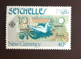 Seychelles 1980 London '80 Birds From Set MNH - Vögel