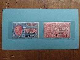 LEVANTE ITALIANO 1908/10 - Espressi Nn. 1/2 Nuovi ** + Spese Postali - 11. Foreign Offices