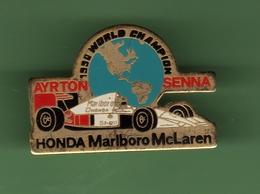 F1 *** A.SENNA WORLT CHAMPION 1990 *** HONDA - MALRBORO - MCLAREN *** A048 - Automobile - F1