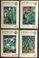 Seychelles 1983 Marianne North Paintings Flowers Birds MNH - Seychelles (1976-...)