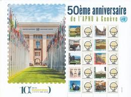 2019 Feuille Personnalisée 50ème Ann. De L'APNO ** - Unused Stamps