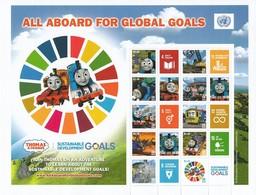 2019 Feuille Personnalisée All Aboard Global Goals ** - New York – UN Headquarters