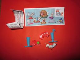 PETS 2 KINDER SORPRESA DV527 2019 ITALIA - Cartoons