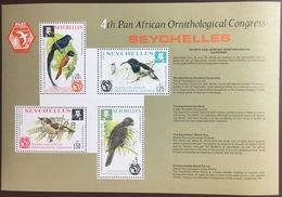 Seychelles 1976 PAOC Birds Minisheet MNH - Vögel