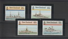 Nouvelle Zélande 1985 Bateaux 909-912 4 Val ** MNH - Unused Stamps