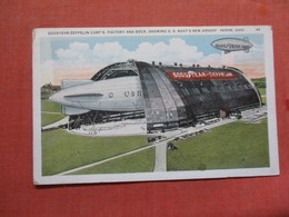 Goodyear Zeppelin Corps Factory & Dock Akron Ohio   Ref 3782 - Dirigeables