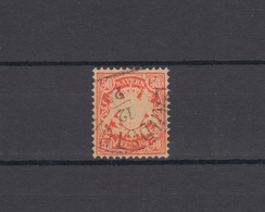 Bayern 42 Wappen 50 Pfennig - Stempel 12a Halbkreisstempel LANDSTUHL 12.2. - Bayern (Baviera)
