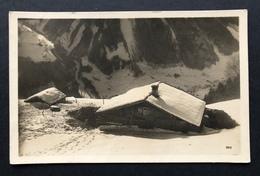 Gstaad Hütte/ Chalet Im Schnee Fotokarte Gestempelt 1929 - BE Berne