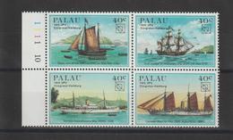 Palau 1984 Bateaux 47-50 4 Val ** MNH - Palau