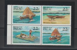 Palau 1985 Bateaux 65-68 4 Val ** MNH - Palau