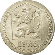 Monnaie, Tchécoslovaquie, 50 Haleru, 1986, TTB, Copper-nickel, KM:89 - Tchécoslovaquie