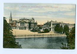 U1860/ Schwerin Theater Und Museum  AK 1913 - Unclassified