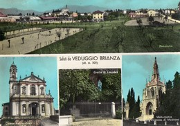 MILANO-VEDUGGIO-SALUTI DA - Monza