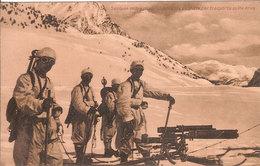 (CM).1^ G.M.1917.Sezione Mitragliatrici Montate Su Slitte Per Trasporto Sulla Neve (312-a17) - Materiale