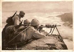 """(CM).""""Il Nemico è Avvistato"""".Fotocartolina.F.to Grande.Viaggiata Il 2-5-42 (147-a16) - Guerra 1939-45"""