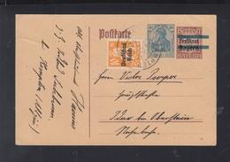 Dt. Reich GSK Mit Zudruck Und ZuF 1921 Kempten - Germany