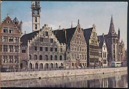 °°° 14875 - BELGIUM BELGIO - GENT - QUAI AUX HERBES - 1962 °°° - Gent