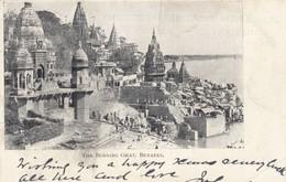 The Burning Ghat , BENARES , India , 1902 - India
