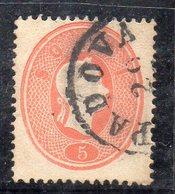Q106 - LOMBARDO VENETO 1861  ,  5S. N. 33 Usato . - Lombardo-Veneto