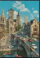 °°° 14876 - BELGIUM BELGIO - GENT - EGLISE ST. NICOLAS - 1971 With Stamps °°° - Gent