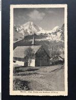 Mürren Englische Kirche Breithorn - BE Berne