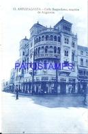 126762 CHILE ANTOFAGASTA STREET CALLE BAQUEDANO ESQUINA DE ANGAMOS POSTAL POSTCARD - Chile