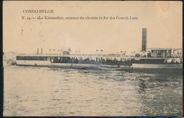 "BELGIAN CONGO PC CFL ""LE KINTAMBO"" FROM LEO. 1912 TO CHARLEROI - Congo Belge"