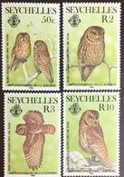 Seychelles 1985 Audubon Birds Scops Owl MNH - Vögel