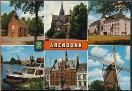 °°° 14881 - BELGIUM BELGIO - ARENDOCK - VIEWS - 1985 °°° - Arendonk