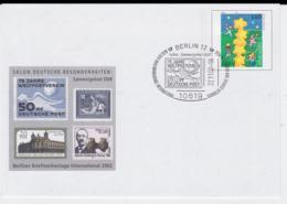 Germany Ganzsache/Postal Stationary 2000 Europa CEPT W/print Berliner Briefmarkentage 2002 - Used (G95-38) - [7] West-Duitsland