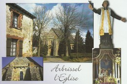 ARBRISSEL L Eglise (Gd Format) - Frankreich