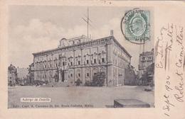 CPA - Malte / Malta - Auberge De Castille - 1904 - Malta