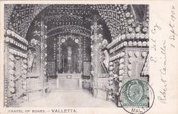 CPA - Malte / Malta - Chapel Of Bones - Valletta - 1904 - Malta