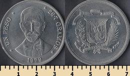Dominicana 1 Peso 1979 - Dominikanische Rep.