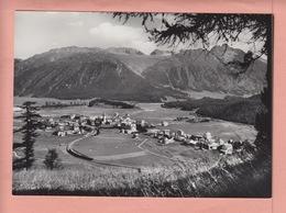 OUDE POSTKAART ZWITSERLAND - SCHWEIZ - CELERINA MET RHAETISCHE BAHN - GR Graubünden