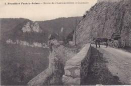 Frontière Franco-Suisse - Route De Charmanvillers à Goumois - Zoll