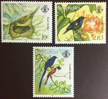 Seychelles 1993 3 Birds From Set MNH - Vögel